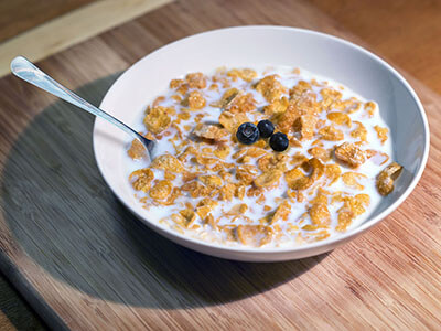 cereal heterogeneous mixture