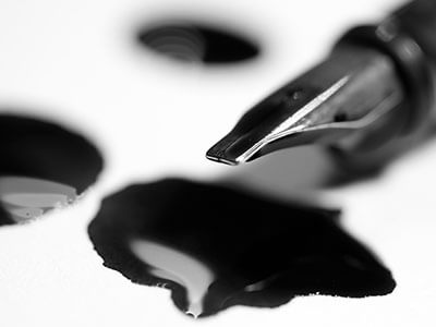 ink opaque colloid