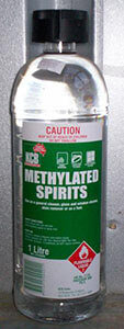 methylated spirits solution
