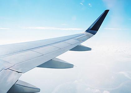 aluminium alloy aeroplane wing