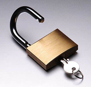 brass padlock fitting