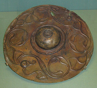 bronze alloy shield