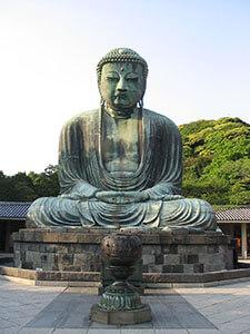 bronze metal statue