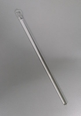 science laboratory glass stirring rod