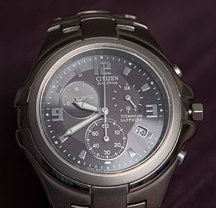 titanium alloy watch