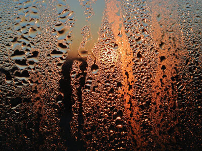 condensation physical state change