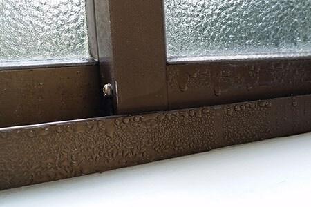 condensation water window heat energy