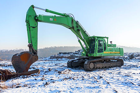 liquids incompressibility hydraulics excavator