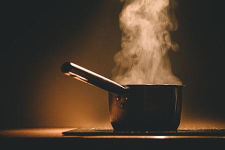 boiling vaporisation steam