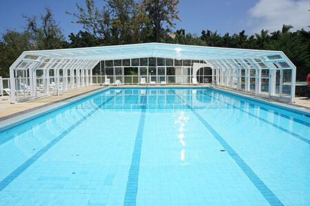 evaporation water vapour swimming pool