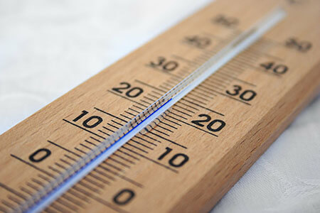 thermometer thermal expansion contraction liquid