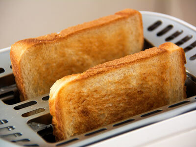 toast baking chemical colour change