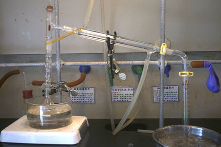 mixture separation distillation alcohol water