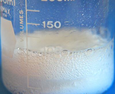 baking soda vinegar chemical reaction equation