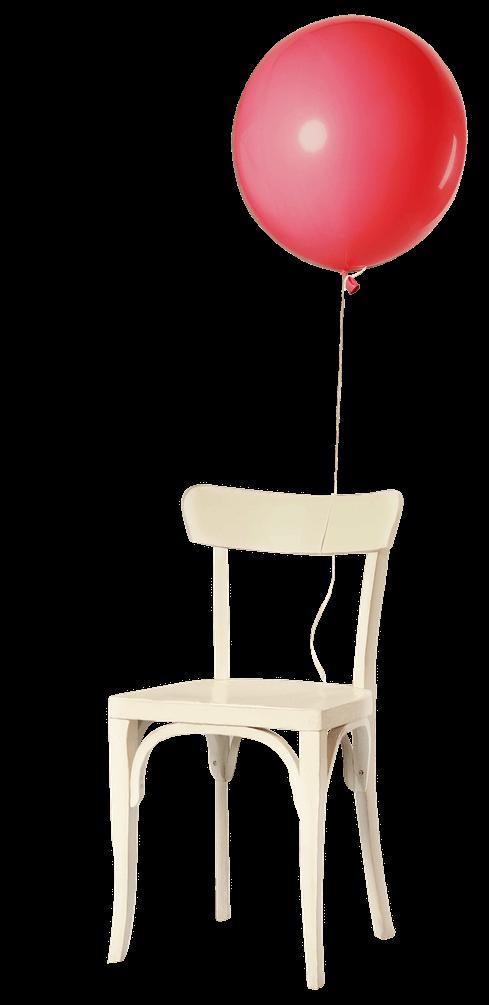 balloon chair density