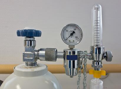pressurised gas cylinder density